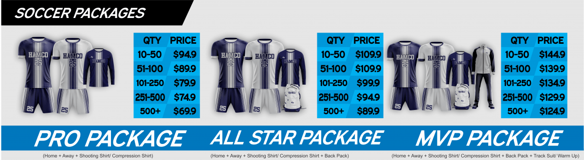 SOCCER PRICING BANNER