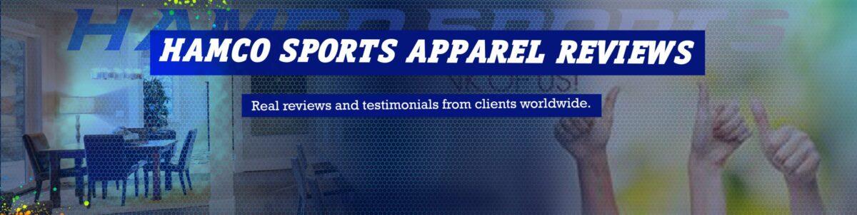 Hamco Sports Apparel Reviews