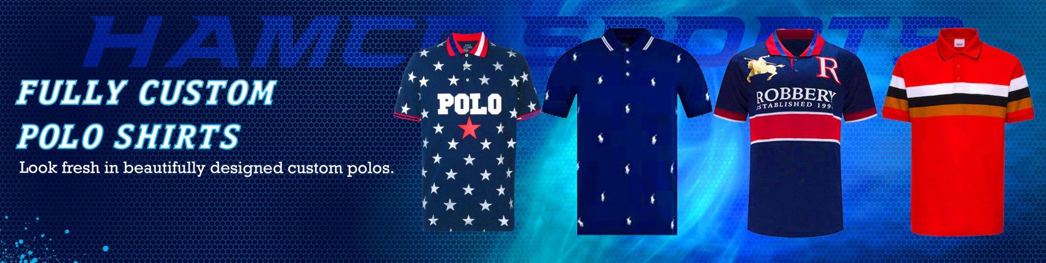 Custom Polo Shirts